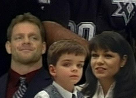 Chris Benoit and Family