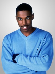 Merlin Santana in Steve Harvey.