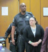 Katie Stockton at sentencing