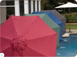 Offset umbrellas not just for your patio