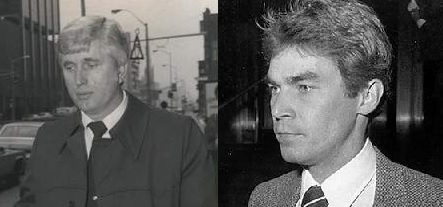 Ronald Ebens and Michael Nitz, the murderer of Vincent Chin, Source: Alchetron