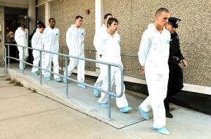 7 defendants after arrest