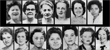 13 victims