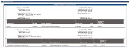 Carl Stuffel sentence info