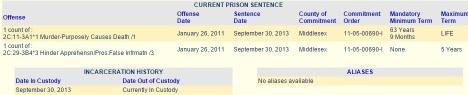Li sentence info