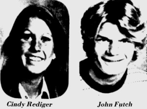 Cindy Rediger and John Futch