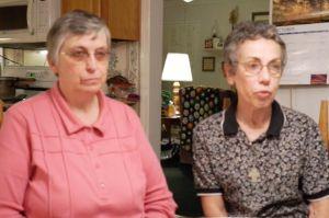 Paula Merrill and Margaret Held
